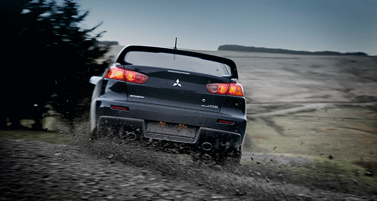 Lancer Evo FE comes equipped with Super-All Wheel Control, helping make even spirited driving safer.