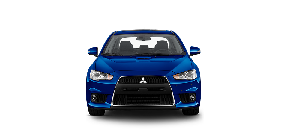 Octane blue 2015 Mitsubishi Lancer Evolution Exterior 360 View
