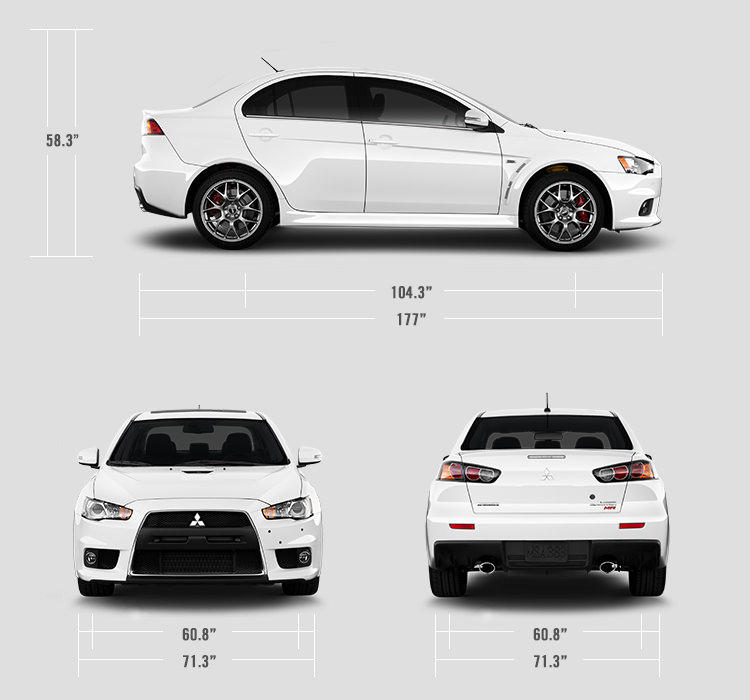 Specifications - 2015 Mitsubishi Lancer EVO - Sports Sedan | Mitsubishi Motors