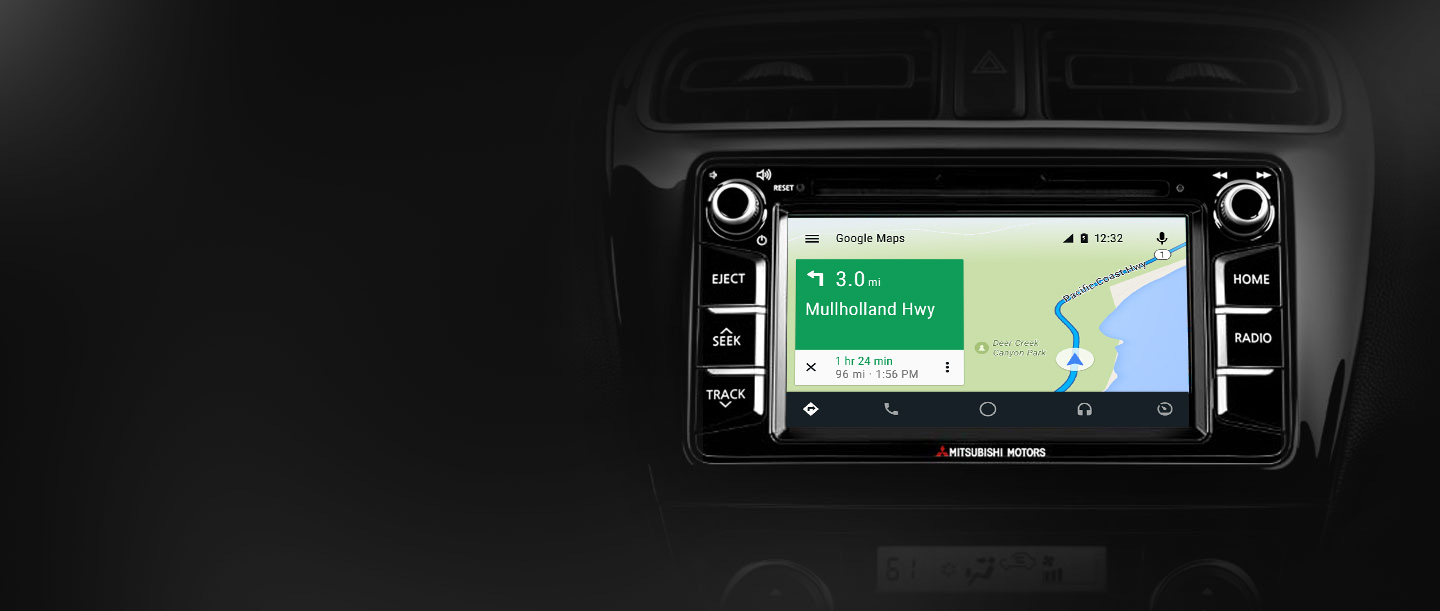 Android Google Maps 2017 Mitsubishi Mirage G4
