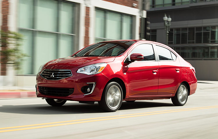 2017 Mitsubishi Mirage G4 Small is the new big