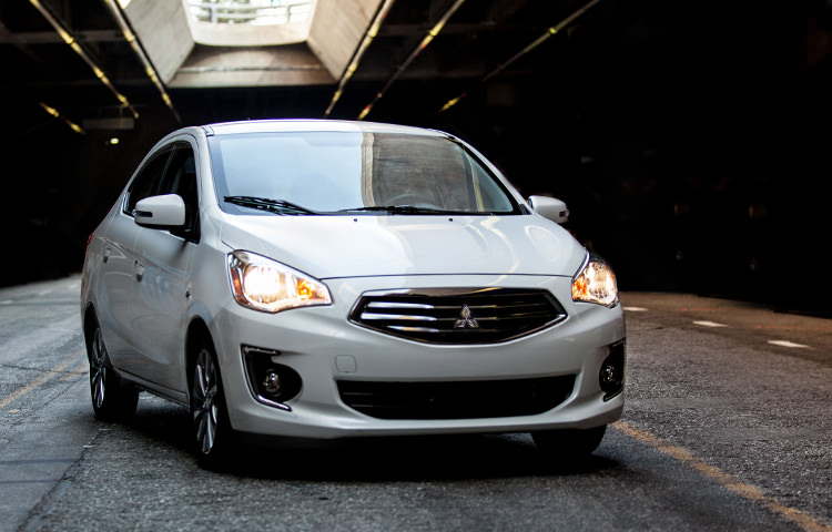 Meet the all-new 2017 Mirage G4 subcompact sedan, packed with style, substance and sensibility.