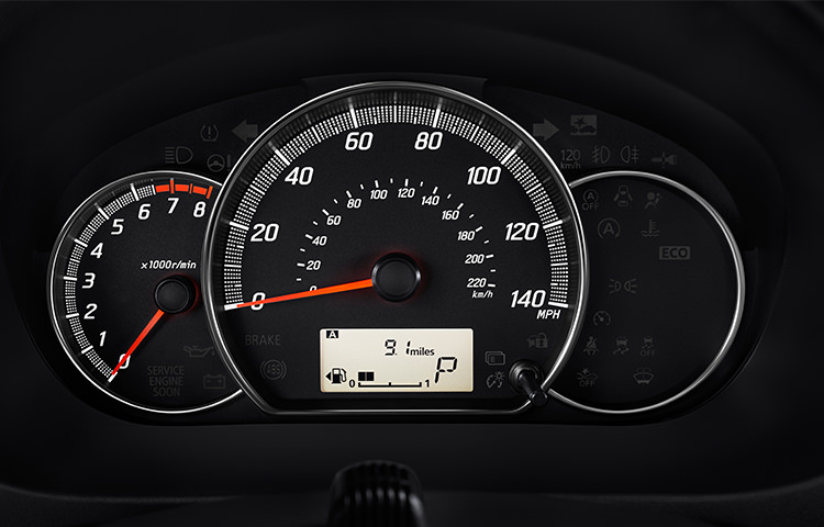 Front Dash Display 2017 Mitsubishi Mirage G4