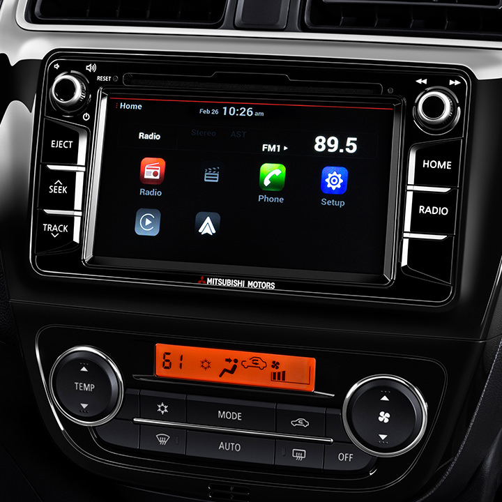"Access available tech features like Bluetooth®, a rearview camera and more on a convenient 6.5"" touchscreen."