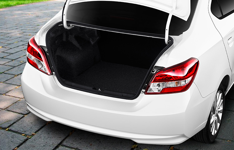 Trunk Space Mitsubishi Mirage G4