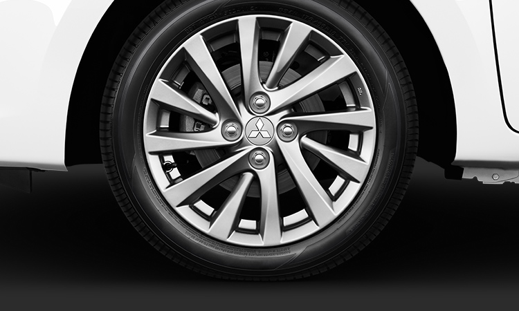 2017 Mitsubishi Mirage G4 15 inch Chrome Alloy Wheels