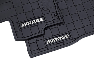 2018 Mirage G4 all weather rubber floor mats