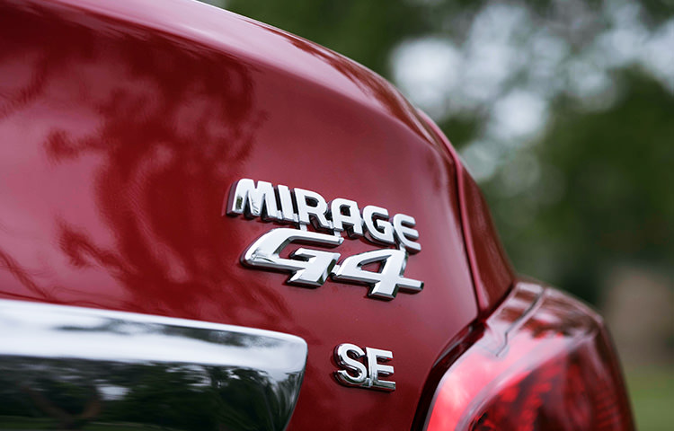 2018 Mitsubishi Mirage G4 se badge features loaded