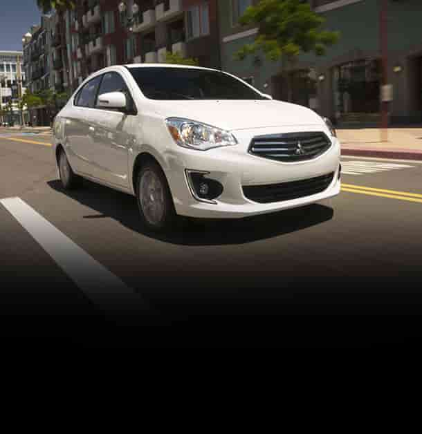 2018 Mitsubishi Mirage G4 Vehicle Selection
