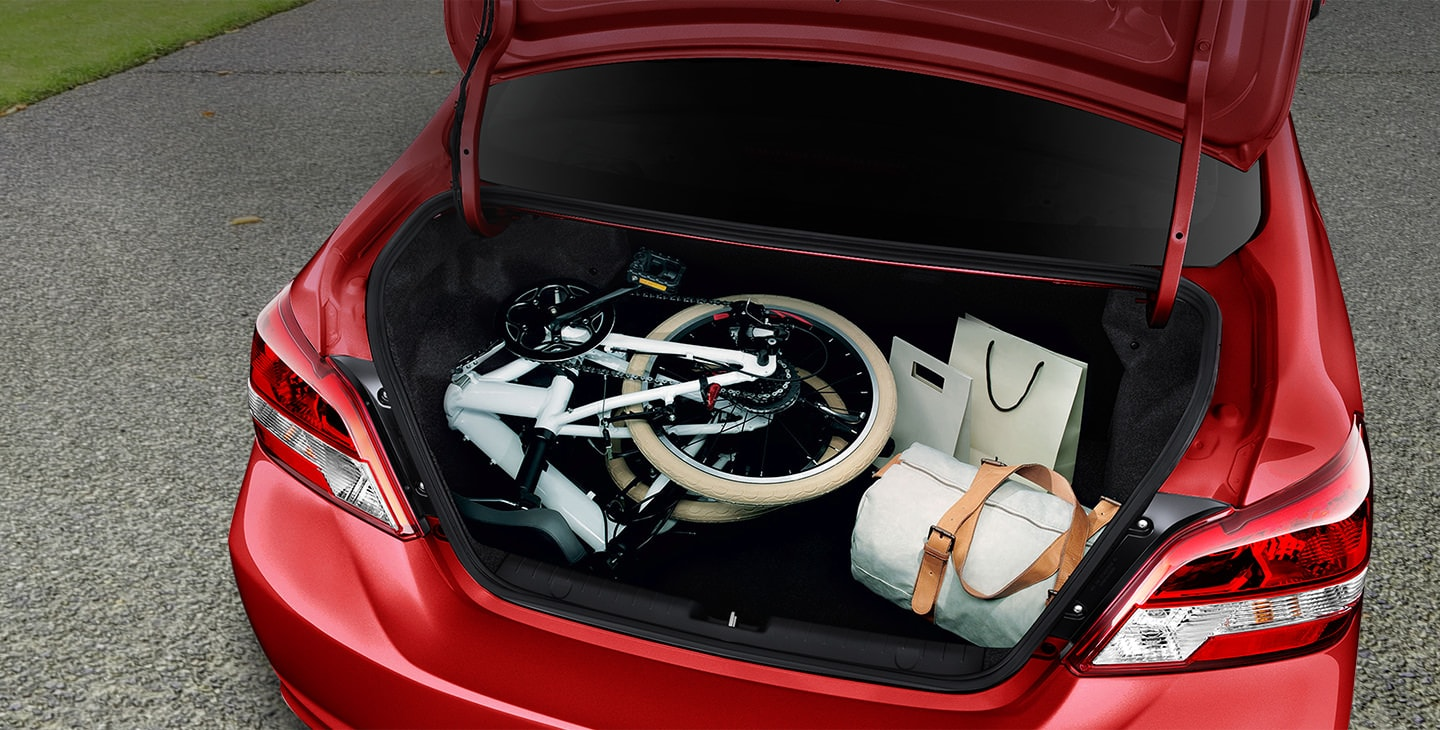 2018 Mirage G4 cargo capacity full