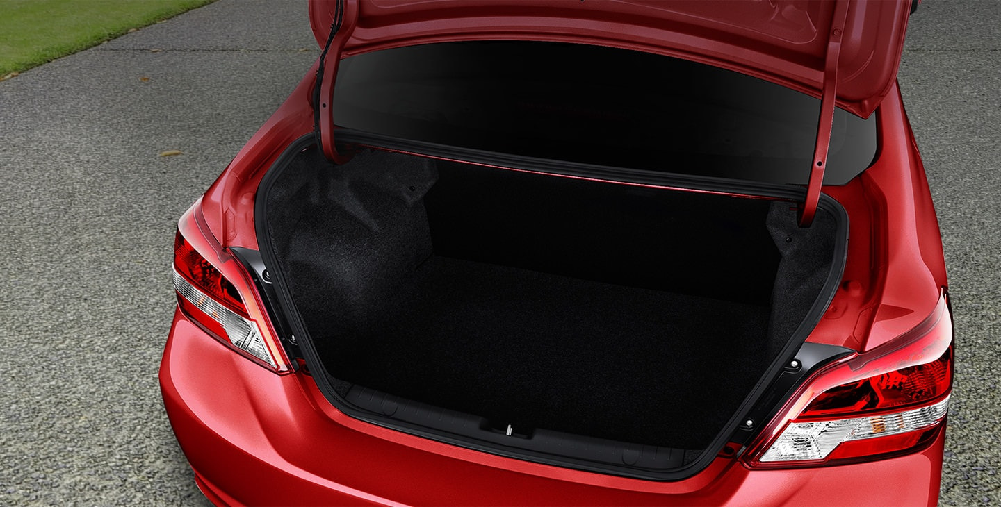 2018 Mirage G4 cargo capacity empty
