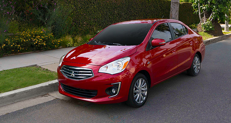 2018 Mitsubishi Mirage G4 perfect size for city adventure