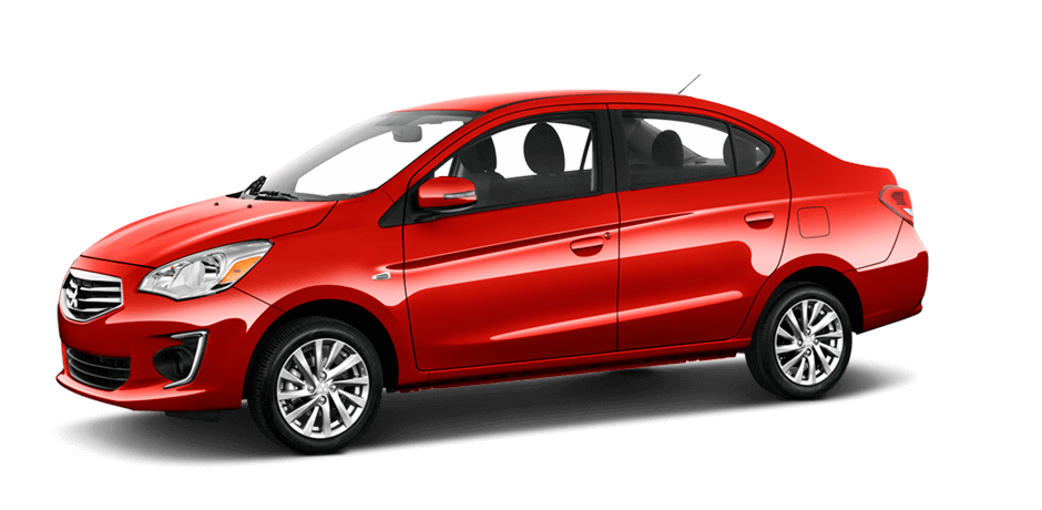 Infrared metallic 2018 Mitsubishi Mirage G4 Exterior 360 View