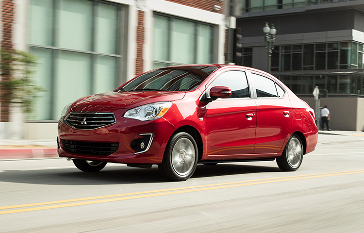 With built in cruise control, the 2019 Mitsubishi Mirage G4 is road trip ready.