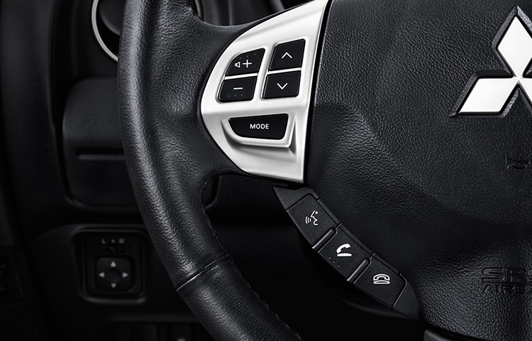 Go hands-free with a handful of Bluetooth® features. (Only available with Navigation Package)