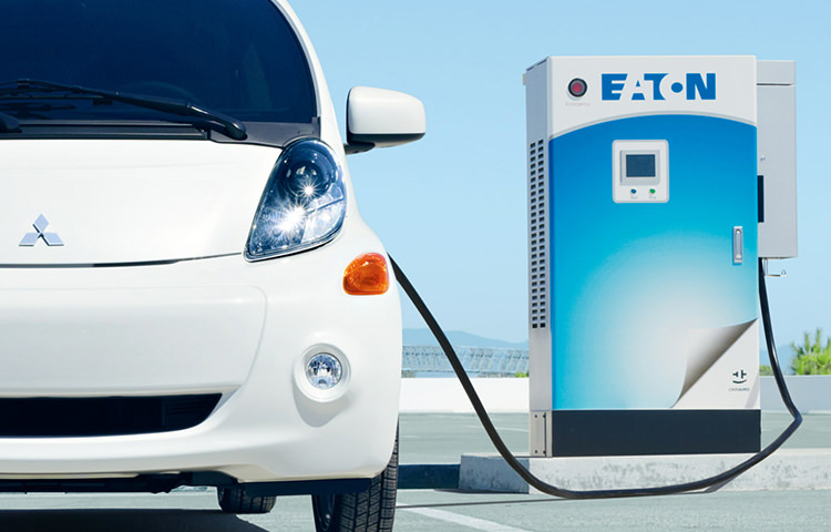 i-MiEV using a Level 3 Charging system.