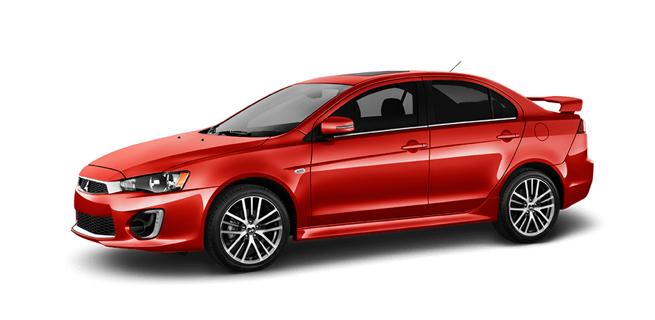 Rally-red 2016 Mitsubishi Lancer Exterior 360 View