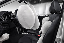 Seven airbag safety system