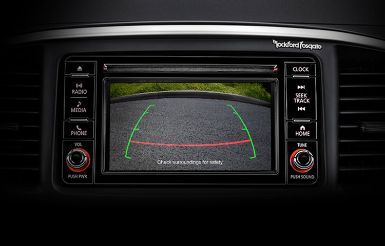 Lancer Rearview Camera