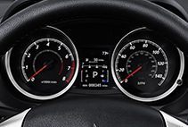 Dashboard Features 2017 Mitsubishi Lancer