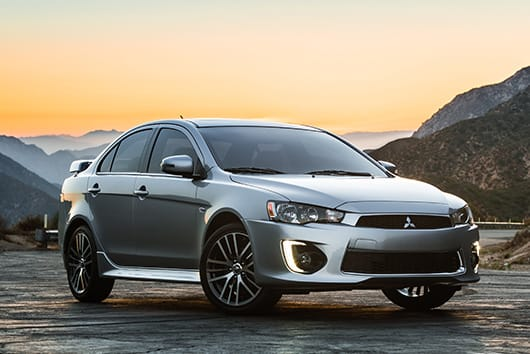 Available front 2017 Mitsubishi Lancer