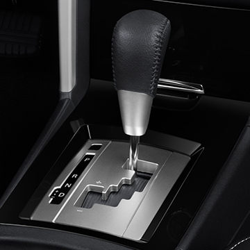 Choose between the ultra-responsive 5-speed MT or the new super smooth CVT automatic transmission (shown).