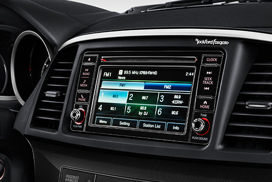 Standard Audio Display 2017 Mitsubishi Lancer