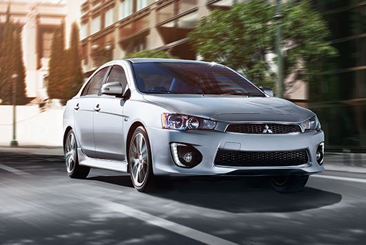 Stylish Performance 2017 Mitsubishi Lancer