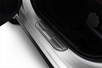 scuff plate accessories for 2017 Mitsubishi Mirage door panels