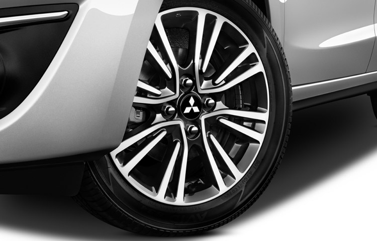 Redesigned Wheel Styling 2017 Mitsubishi Mirage