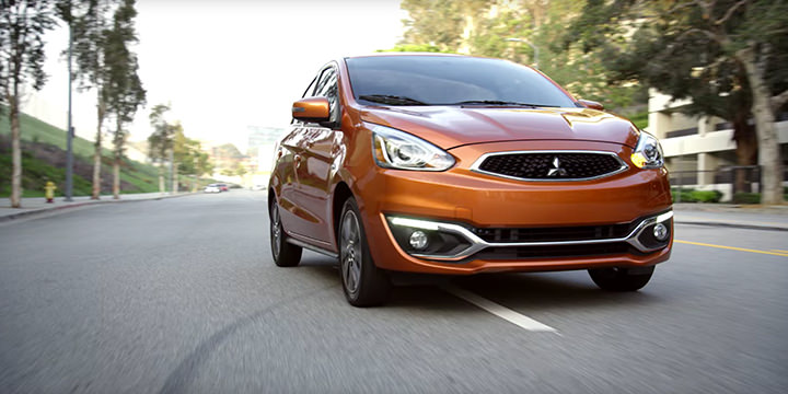 A Few Surprises With the 2017 Mitsubishi Mirage