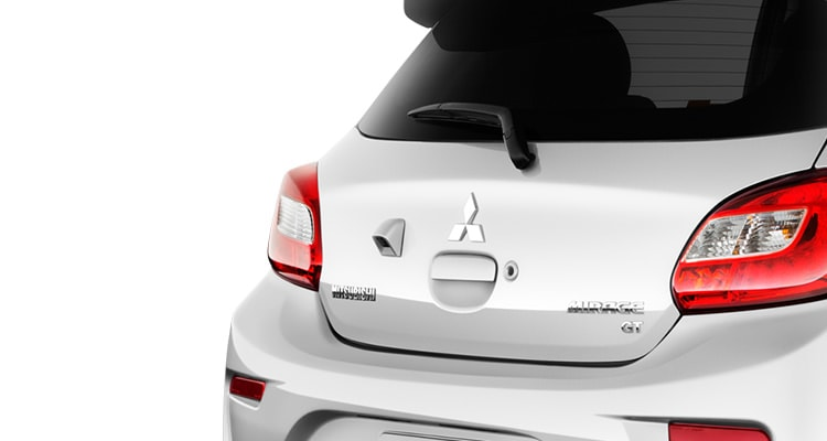 2017 Mitsubishi Mirage hatchback in Pearl White
