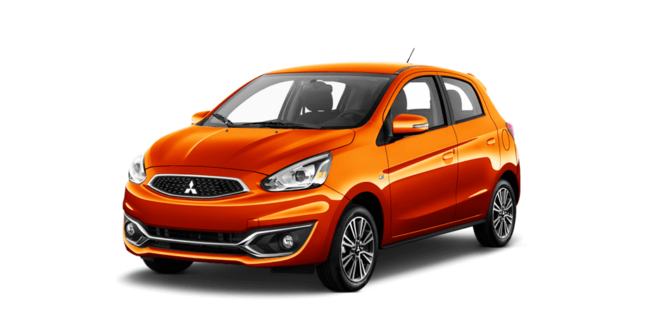 Sunrise orange 2017 Mitsubishi Mirage Exterior 360 View