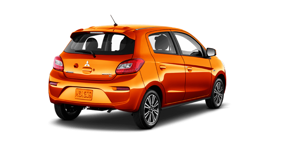 Sunrise-orange 2017 Mitsubishi Mirage Exterior 360 View