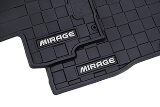 All weather mat accessories for 2018 Mitsubishi Mirage
