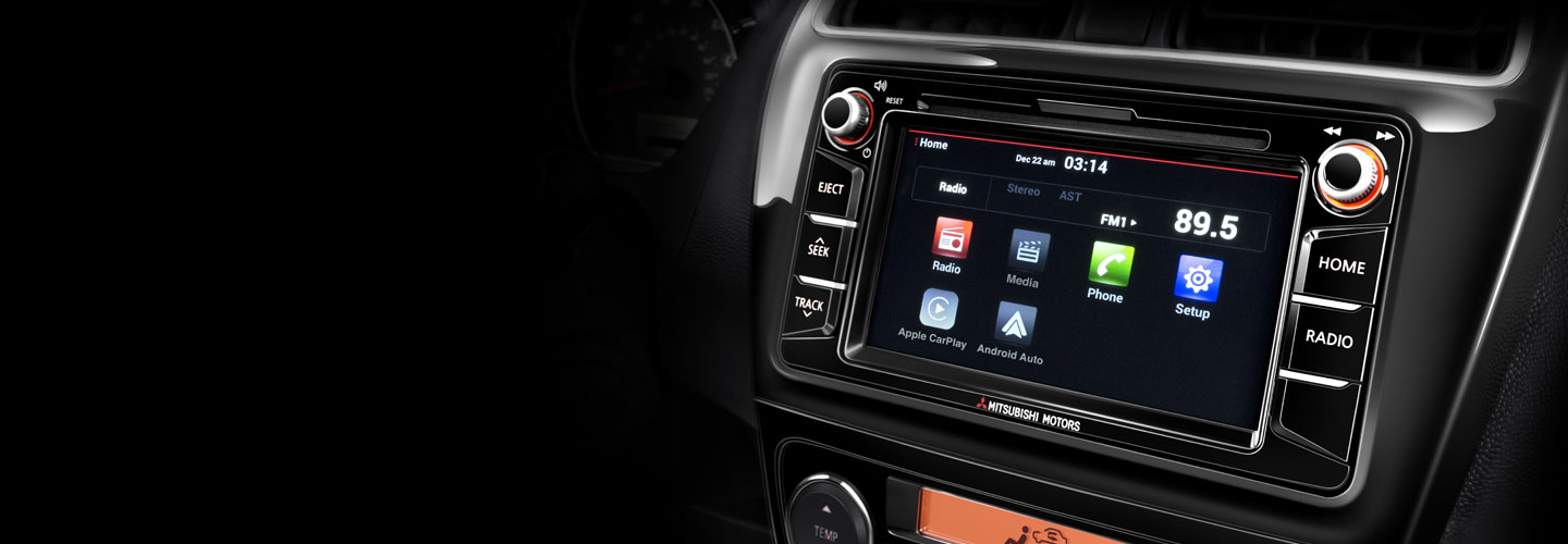 2018 Mitsubishi Mirage Technology Features Motorsrhmitsubishicars: Mitsubishi Mirage Radio At Gmaili.net