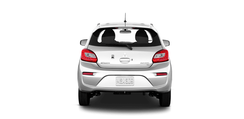 Starlight silver metallic 2018 Mitsubishi Mirage Exterior 360 View