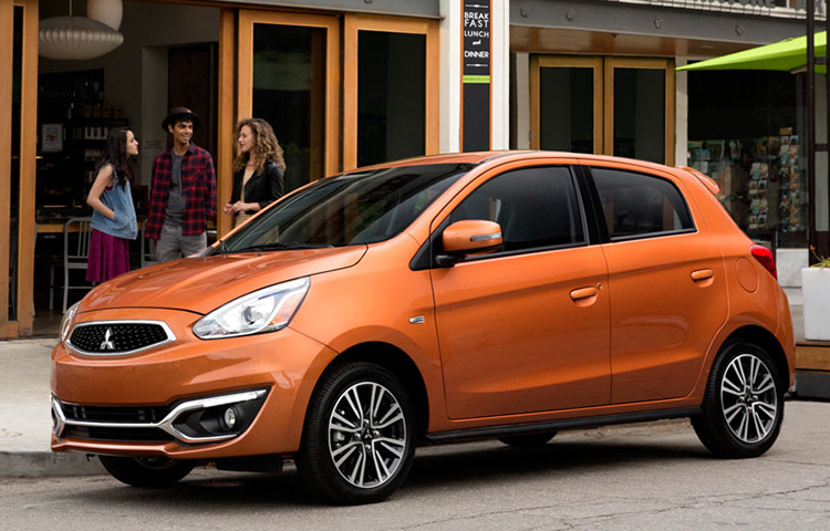 The 2019 Mitsubishi Mirage is perfect for urban adventures, errands and everything in between.