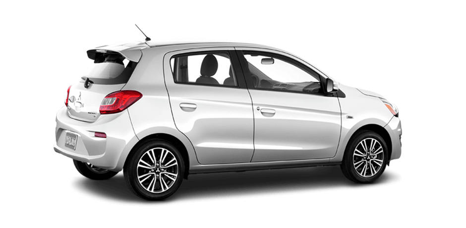 Starlight silver metallic 2019 Mitsubishi Mirage Exterior 360 View