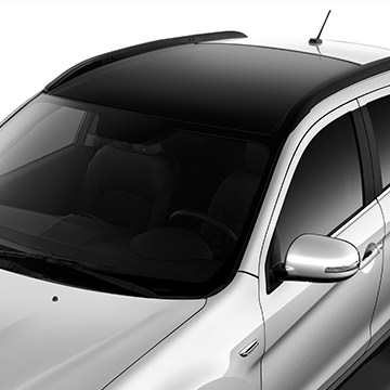 Easily transport sporting equipment with optional roof racks, or upgrade to GT for a stylish panoramic glass roof.