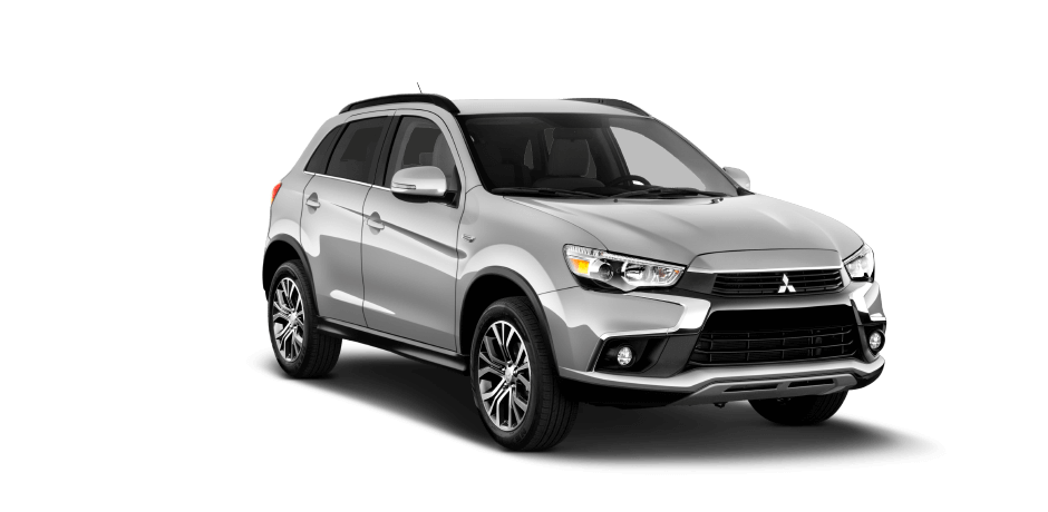 Cool silver 2016 Mitsubishi Outlander Sport Exterior 360 View