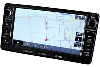 MMCS Navigation System with 7 inch HD Touchscreen