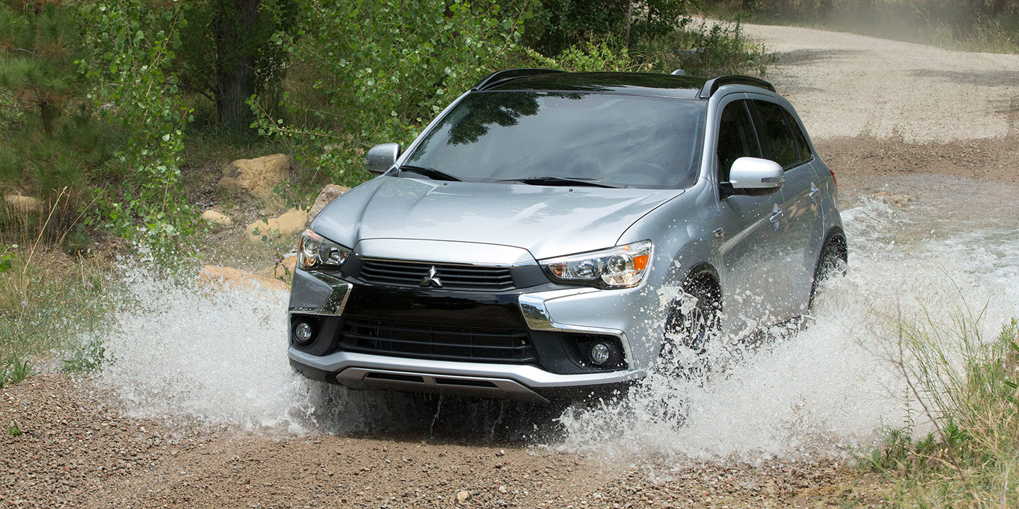 Adventure Ready All Wheel Control 2017 Mitsubishi Outlander Sport