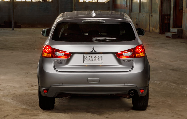 tail lights on 2017 Mitsubishi Outlander Sport Limited Edition