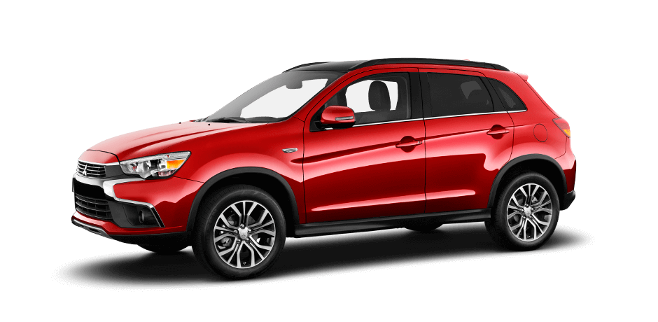 rally red 2017 mitsubishi outlander sport exterior 360 view
