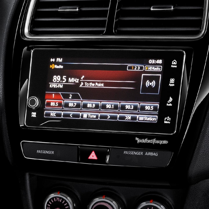 Mitsubishi Outlander Sport 2018 touchscreen display