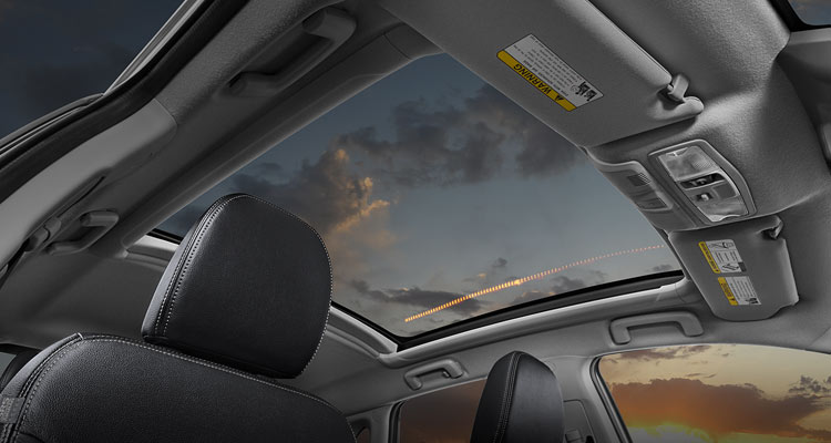 2018 Mitsubishi Outlander Sport Interior Panoramic Glass Roof