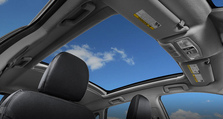 Panoramic Glass Roof on 2018 Mitsubishi Outlander Sport