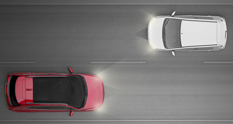 You don&rsquo;t have to worry about switching between low and high beams when driving in sporadically lighted areas. Your Outlander Sport&rsquo;s available Auto High Beam Headlights<SAF007> will do the work for you by automatically adjusting between the brightness levels depending on the surrounding light.