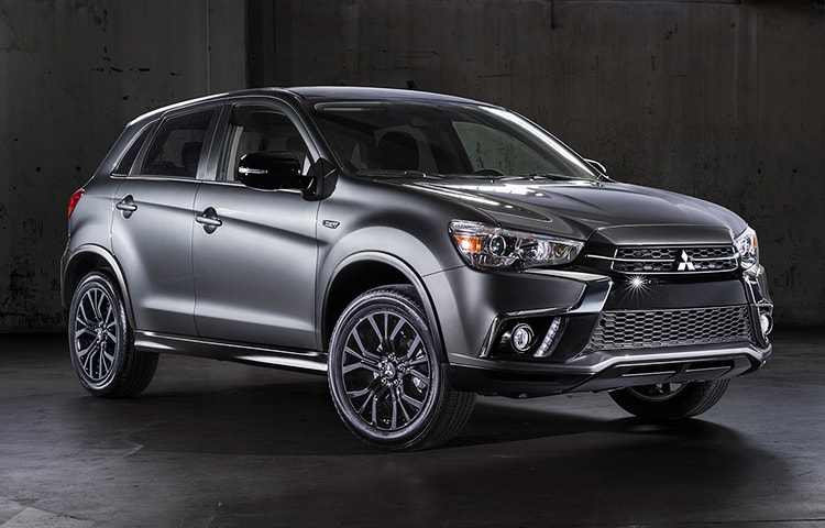 The Outlander Sport's robust stance is accentuated in the exclusive black accents.